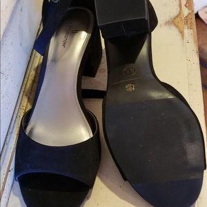 Worthington Black 2inch Block Heel 8.5